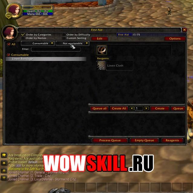 AdvancedTradeSkillWindow 1.12.1
