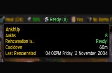 AnkhCooldownTimer 1.12.1: аддон для шаманов, который показывает реагенты
