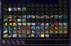 Arkinventory: аддон для поиска предметов на аккаунте и создания одной большой сумки