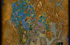 Gathermate2: аддон для поиска травы и руды