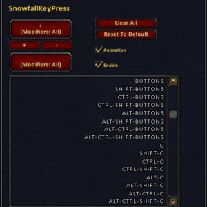 SnowfallKeyPress