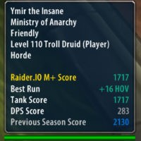 raider io mythic plus