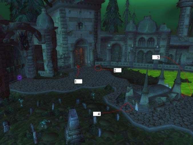 Расположение порталов