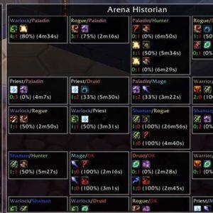 Arena History — аддон для просмотра истории арены