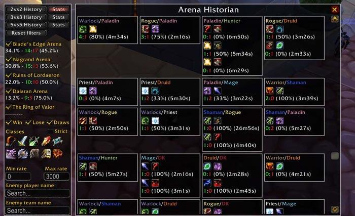Arena Historian
