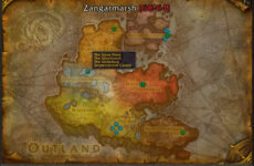 HandyNotes Dungeon Locations — аддон показывающий место нахождения подземелий и рейдов