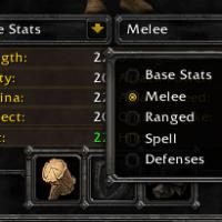 Character Stats Classic